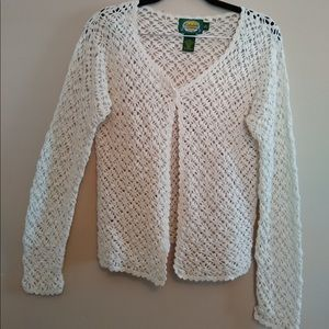 Cabela's White Knitted Cardigan for Women